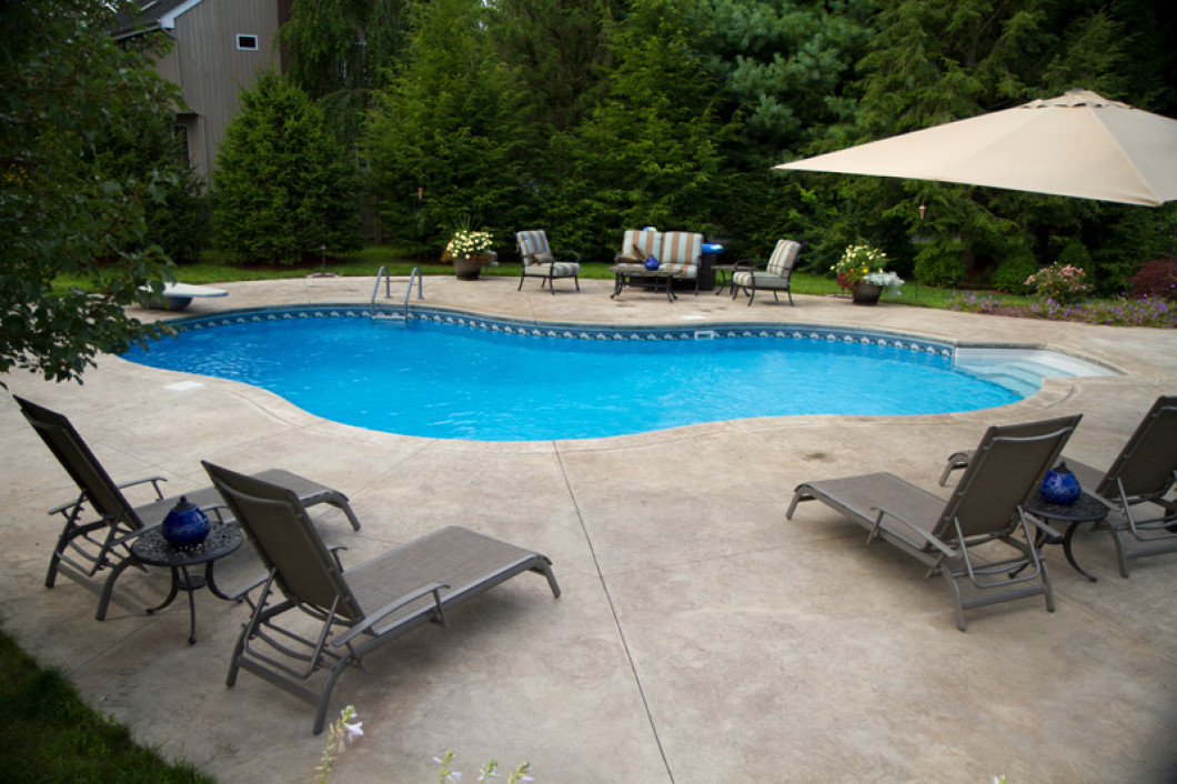 in ground swimming pool fiberglass knowing where your children are and whom they with is paramount in todays society having an inground swimming pool own backyard the inground pools